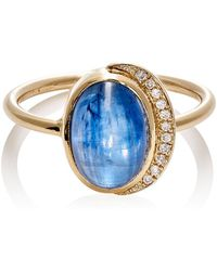 Feathered Soul - Oval Cabochon Ring - Lyst