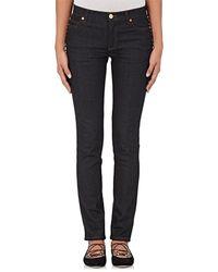 Valentino - Studded Skinny Jeans - Lyst