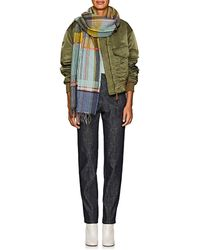Wallace Sewell - Fahey Pinstriped Wool Scarf - Lyst