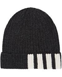 Thom Browne - Rib-knit Cashmere Beanie - Lyst