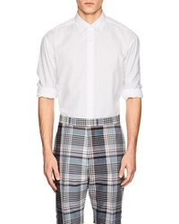 Tomorrowland - Cotton Poplin Shirt - Lyst