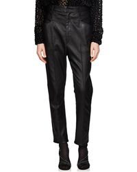 Isabel Marant - Modena Leather Trousers - Lyst