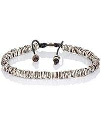 M. Cohen - Oxidized Silver Bracelet - Lyst