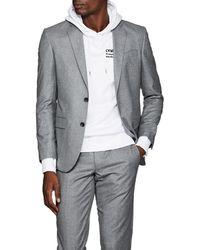 Barneys New York - Fabio Wool Flannel Two-button Sportcoat - Lyst