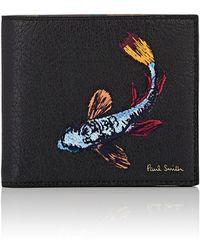 Paul Smith - Koi Leather Billfold - Lyst