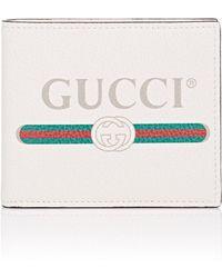 Gucci - Vintage Logo Leather Wallet - Lyst