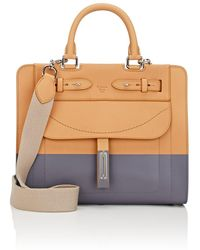Fontana Milano 1915 - A Lady Small Leather Satchel - Lyst