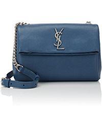 Saint Laurent - Monogram West Hollywood Small Shoulder Bag - Lyst
