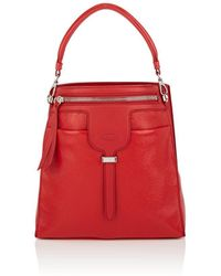 Tod's - Thea Leather Bucket Bag - Lyst