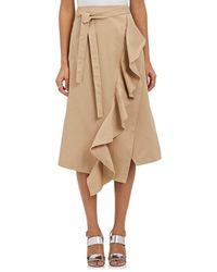 Robert Rodriguez - Ruffle-trimmed A-line Skirt - Lyst