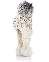 Mischa Lampert - Triple Trouble Wool Hat - Lyst