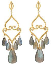 Cathy Waterman - Aladdin Chandelier Earrings - Lyst