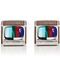 Jan Leslie - Retro Tv Cufflinks - Lyst
