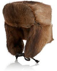 Crown Cap - Fur Trapper Hat - Lyst