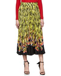 Prada - Pleated Banana- & Flame - Lyst