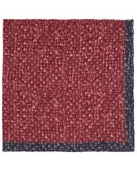 Paolo Albizzati - Speckled Wool Pocket Square - Lyst