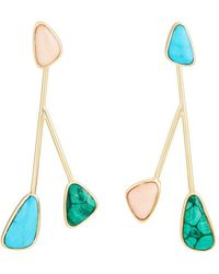 Pamela Love - Pilar Drop Earrings - Lyst