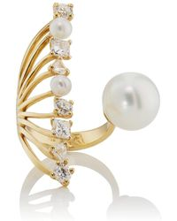 Ileana Makri - Diamond Reef Ring - Lyst