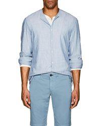 Eidos - Pinstriped Cotton Shirt - Lyst