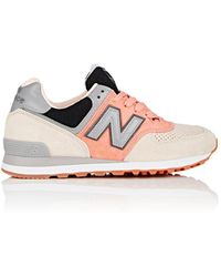 New Balance - Thedrop@barneys: 574 Suede Trainers - Lyst