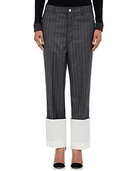 Loewe - Striped Wool Trousers - 1440 - Lyst