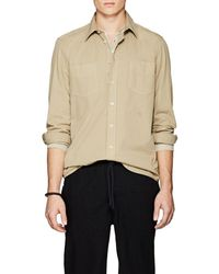 Massimo Alba - Cotton Drill Shirt - Lyst