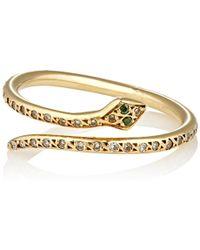 Ileana Makri - Small Python Ring - Lyst