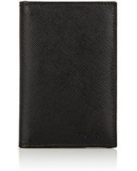 Prada - Folding Card Case - Lyst