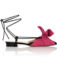 Giannico - Julianne Patent Leather Sandals - Lyst