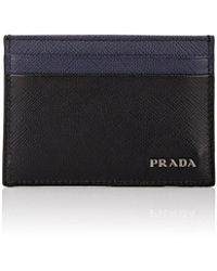 Prada - Colorblocked Card Case - Lyst