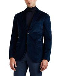 Boglioli - k Jacket Stretch-cotton Velvet Two-button Sportcoat - Lyst