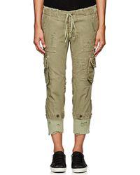 Greg Lauren | Thedrop@barneys: Gl1 Distressed Cotton Cargo Pants | Lyst