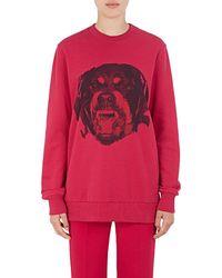 Givenchy - Rottweiler Cotton Sweatshirt - Lyst
