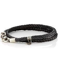 Title Of Work - Double-wrap Bracelet - Lyst