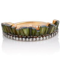 Nak Armstrong - Pleated Crown Ring - Lyst