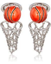 Jan Leslie - Basketball & Net Cufflinks - Lyst