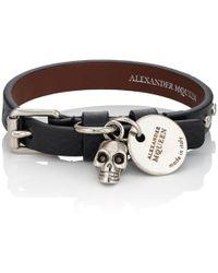 Alexander McQueen - Pioneer Wrap Bracelet - Lyst