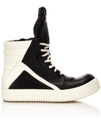 Rick Owens - Geobasket High-top Sneakers - Lyst