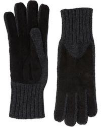 Barneys New York Driving Gloves - Black