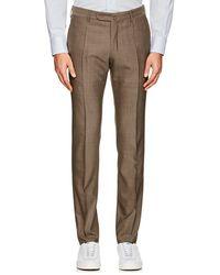 Incotex - S-body Slim-fit Technowool Trousers - Lyst