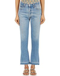 RE/DONE - Elsa Flared Jeans - Lyst
