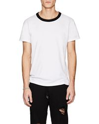 NSF - Contrast-neck Cotton T - Lyst