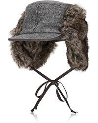 Lola Hats - Woodsman Wool Trapper Hat - Lyst