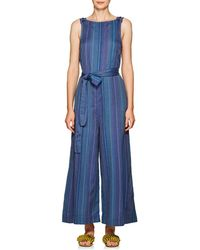 Ace & Jig - Allovers Striped Cotton Jumpsuit Size M - Lyst