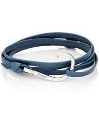 Miansai | Hook On Leather Wrap Bracelet | Lyst