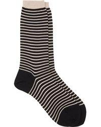 Antipast - Stripe Socks - Lyst