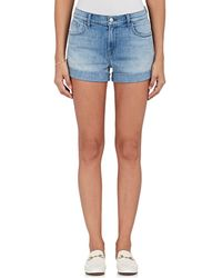 J Brand - Johnny Denim Shorts - Lyst