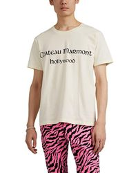 Gucci - chateau Marmont Hollywood Cotton T-shirt - Lyst