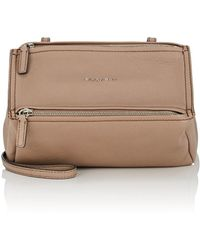 884bd28f1404 Givenchy Pandora Mini Chain Crossbody Bag in Natural - Lyst