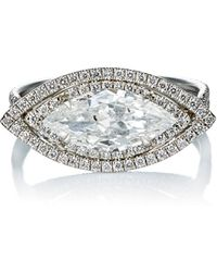 Monique Pean Atelier - Diamond Ring - Lyst